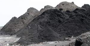 Déchets de houille et de charbon